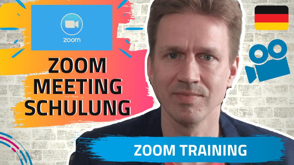 Zoom Schulung mit David Neumann