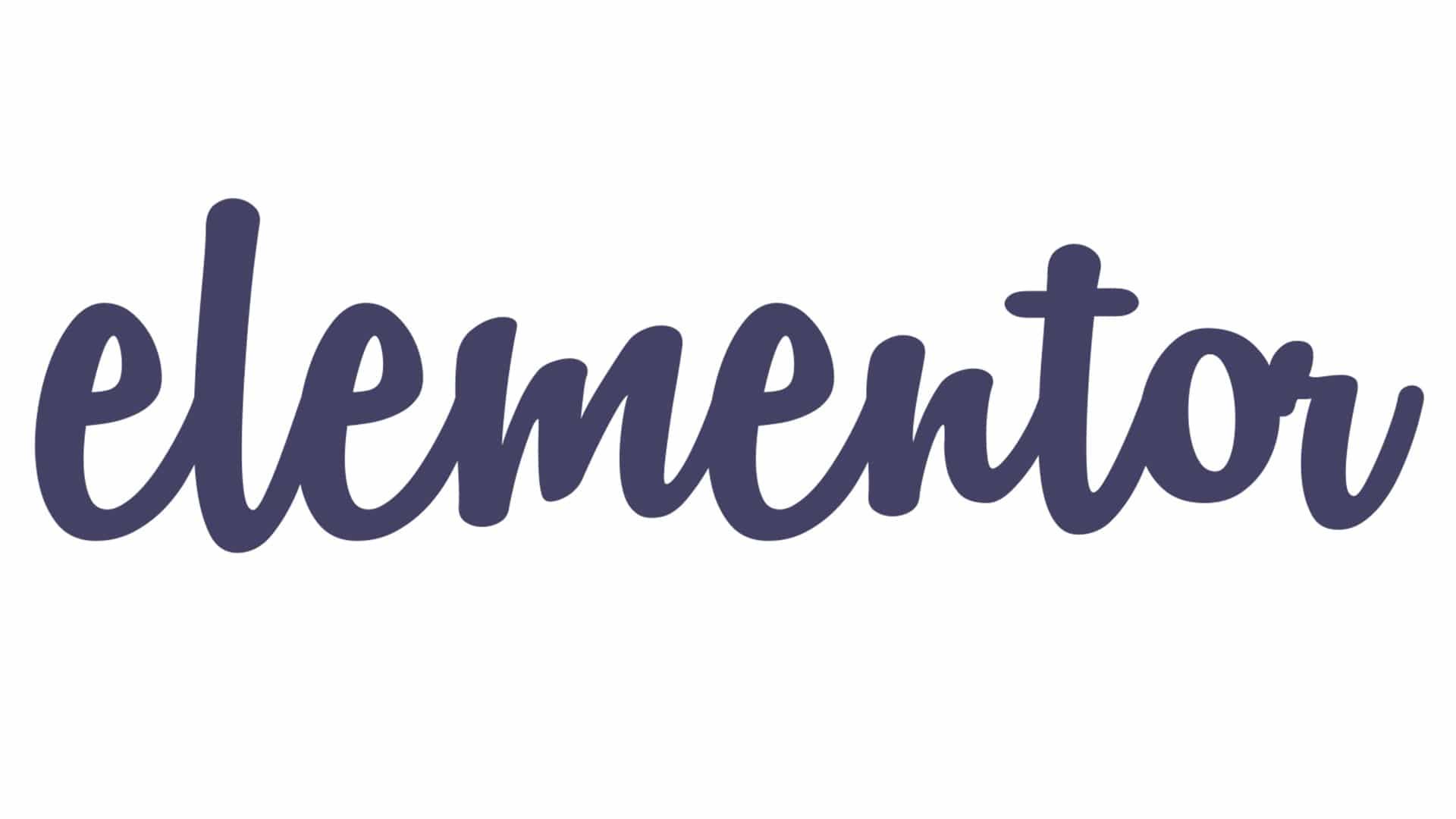 Elementor pro dark Logo